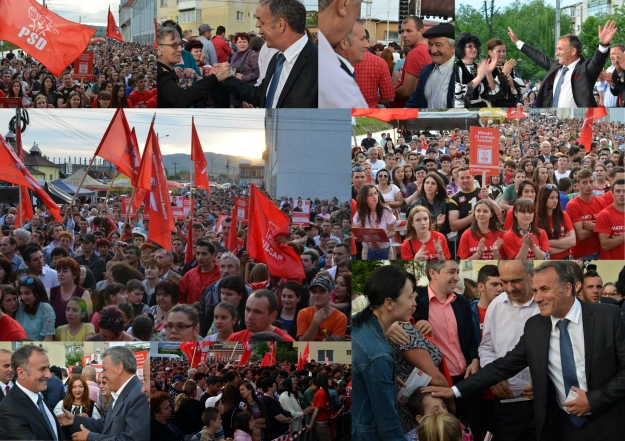 Miting electoral Hateg. 11.05.2014
